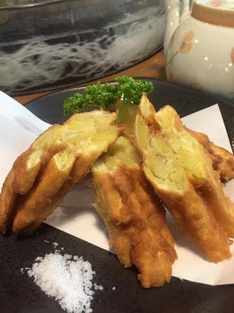 Chojuan : Fried sweet potatoes