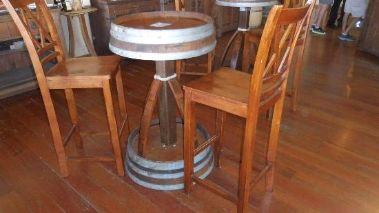 Zaca Mesa Winery: One-of-a-kind Wine Barrel Table