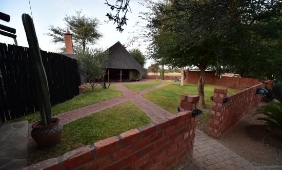 Okahandja, Namibia: reception area