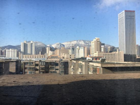 Ningwozhuang Hotel : View from 6th floor window in April