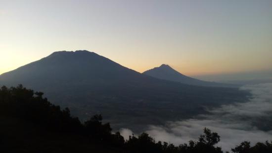 Magelang, Indonesia: View menakjubkan di pagi hari