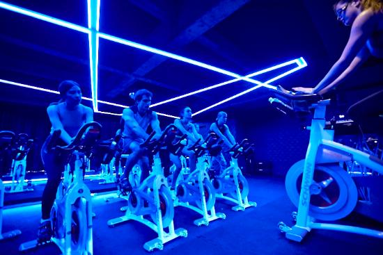 65cea9fdbb Indoor Cycling Studio - Picture of OMMO Studios, Bangkok - TripAdvisor
