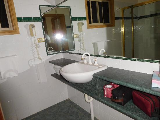 Forest Glen, Australia: Bathroom basin and bench
