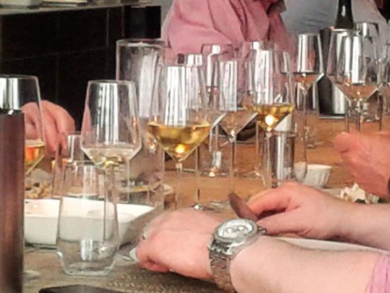 Espace Culinaire Bulthaup : Jeu de lumière ou de l'or en verre