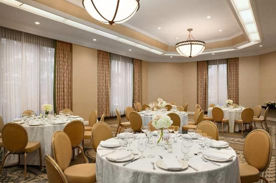 Woodcliff Lake, NJ: Oakes Room - Banquet Setup