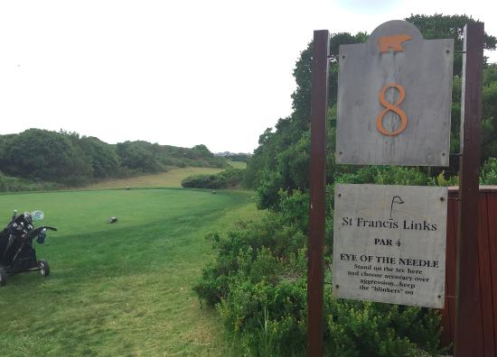 St Francis Links: Eye of the Needle - great hole!