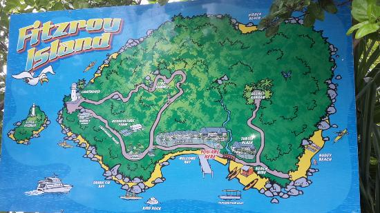Karte Fitzroy Island Picture Of Fitzroy Island Resort Tripadvisor