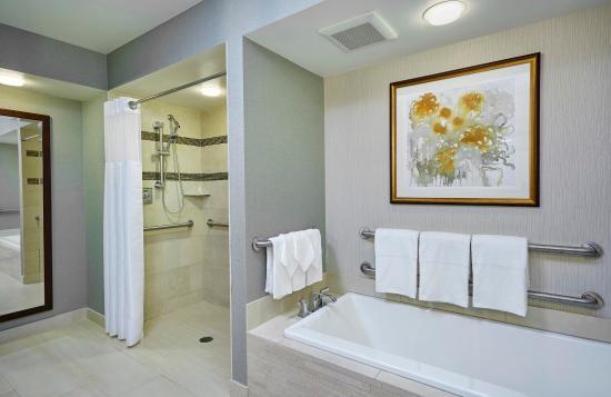 DoubleTree by Hilton - Washington DC - Crystal City: Presidential Accessible Bathroom