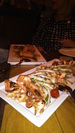 Chez Toni: grigliata di pesce