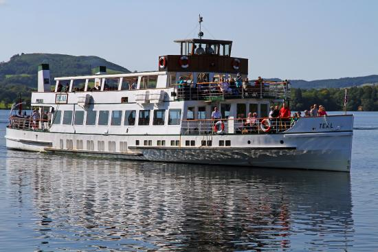 Bowness-on-Windermere, UK: Teal, Windermere Lake Cruises @ Waterhead, Ambleside.