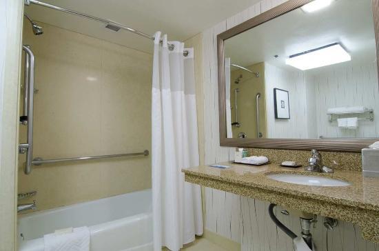 Hilton Los Angeles Airport: Accessible Bathtub