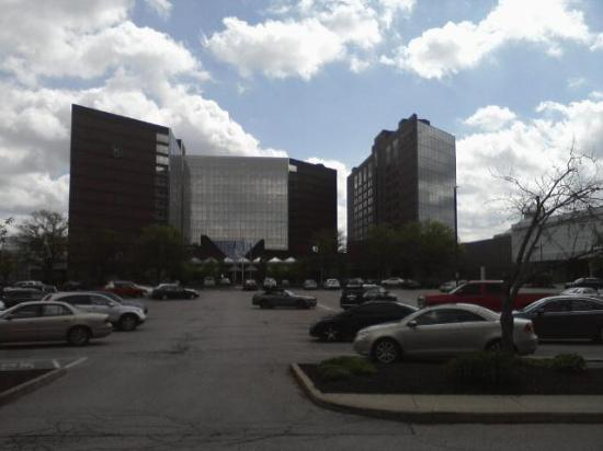 Sheraton Indianapolis Hotel At Keystone Crossing View Of From Other Side The Mall
