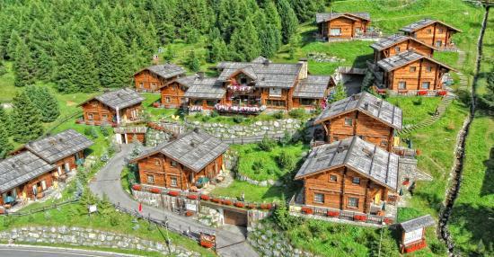 Park Chalet Village: Panoramica drone