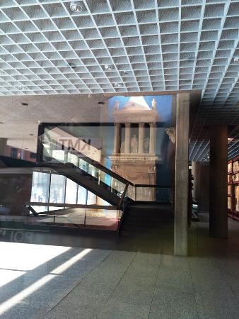 Musaikboden von aussen sichtbar   picture of roman german museum ...
