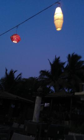 Anjuna, Indien: Pretty Lights at Night time