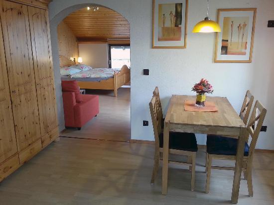 Haus Lange: Essbereich - kleine Ferienwohnung