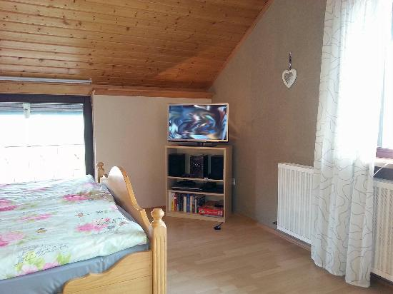 Haus Lange: LED-SatTV - kleine Ferienwohnung