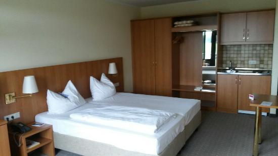 Mein Zimmer im Ramada Hotel