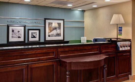 hampton inn newport news yorktown 109 1 1 9. Black Bedroom Furniture Sets. Home Design Ideas