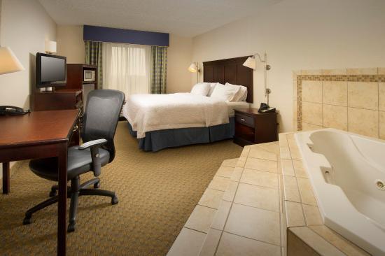 Liverpool, estado de Nueva York: King Guest room with Whirlpool