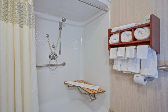 Hampton Inn Perry: Roll-In Shower