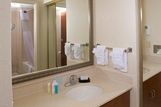Hampton Inn & Suites, Springfield: Suite Bathroom