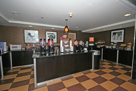 Max Meadows, VA: Breakfast Area