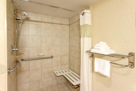 Staunton, VA: Roll-in Shower