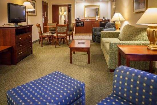 Hampton Inn & Suites Springfield - Southwest: Two Room Living Area