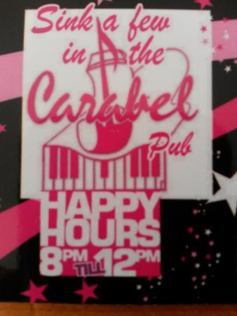 Carabel Pub: Happy Hour
