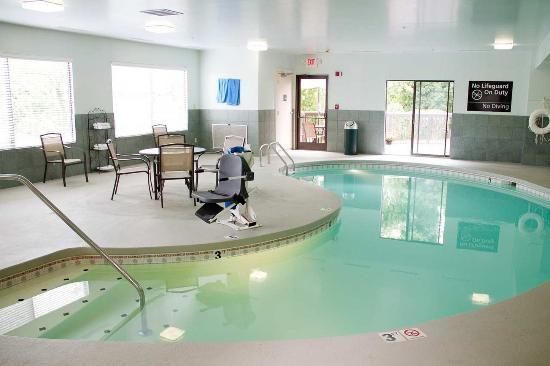 Charleston, فرجينيا الغربية: Indoor Pool