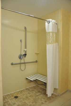 Hampton Inn Stony Creek: Accessible Shower