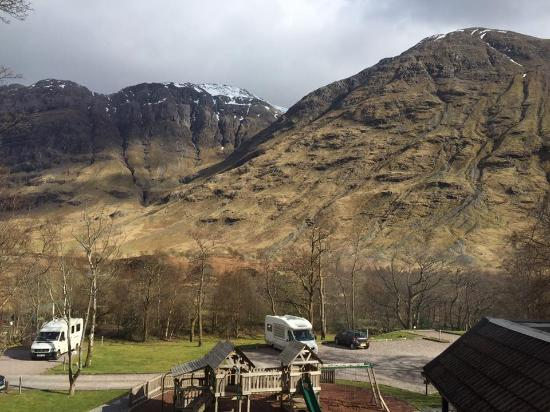 Perfact place to start our Highlands tour