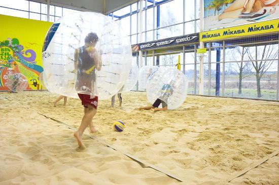Pludmale Brazilija Zorb Perball Football Indoor Beach Volleyball