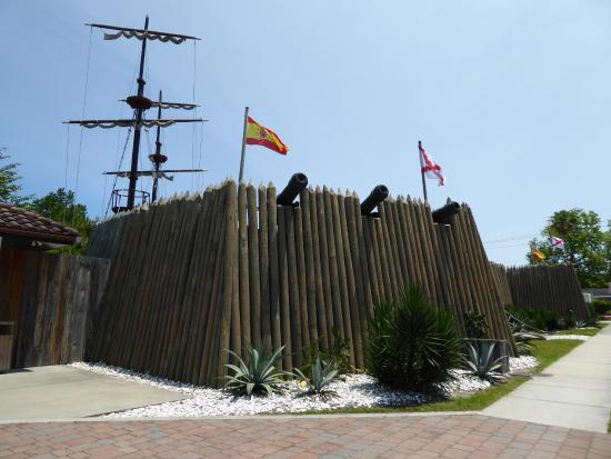 Fort Menendez at the Old Florida Museum