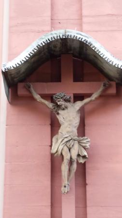 St. Peter: Crucifix in the Court Yard