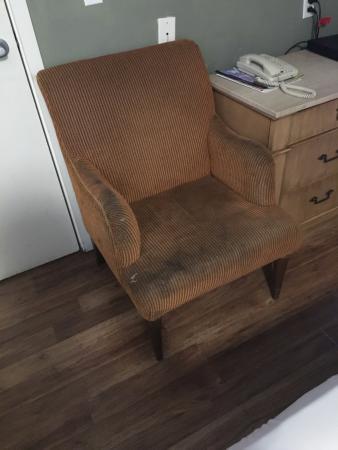 Milpitas, Californien: Dumpster chair