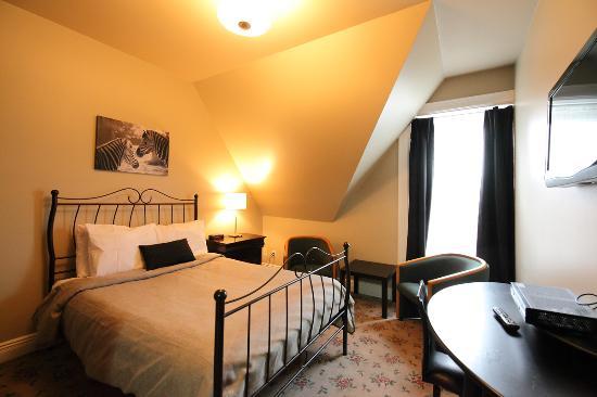 Hotel Manoir de la Terrasse: Chambre 1 lit double