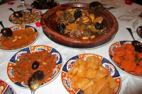 Riad Kniza Restaurant: tagine