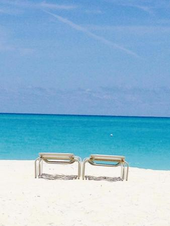 The Meridian Club Turks & Caicos: Beautiful Privet beach in front of the club