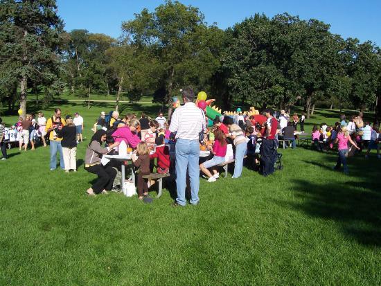 DuPage County, IL : Katherine Legge Memorial Park Picnic
