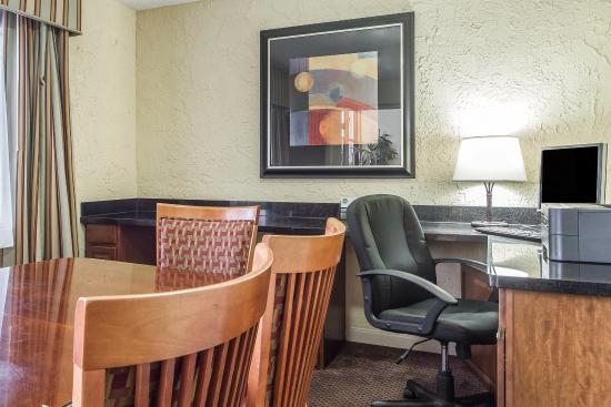 Comfort Inn and Suites Newark: Business Center