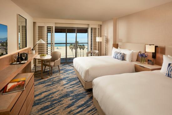 Loews Santa Monica Beach Hotel: Premium Ocean View Queen