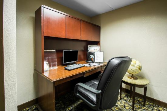 Quality Inn & Suites-Capital District: Computer