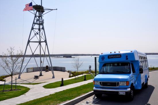 The Scenic Route Maine Tours: Fort Allen Park