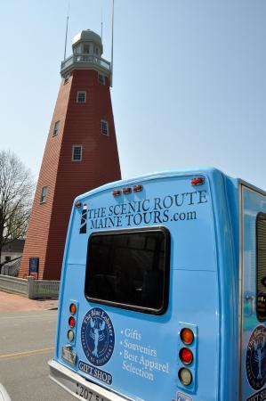 The Scenic Route Maine Tours: Portland Observatory