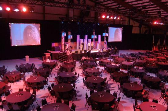 Villa Park Odeum Sports Center Argent Stage