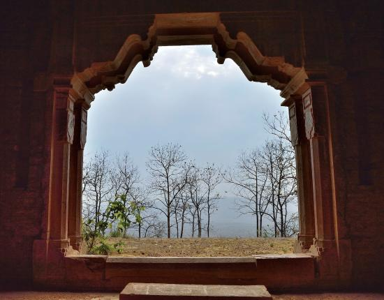 View from Delawadi fort