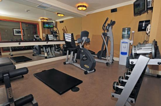Fitness Room at the Fox Hotel & Suites