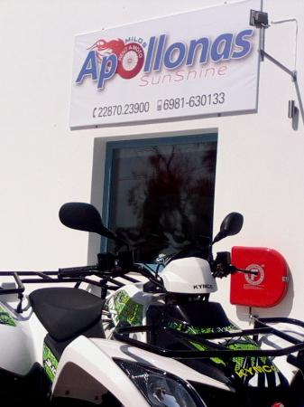 Apollonas Sunshine Rent a Moto